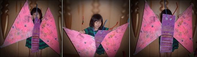 신문지 나비 02