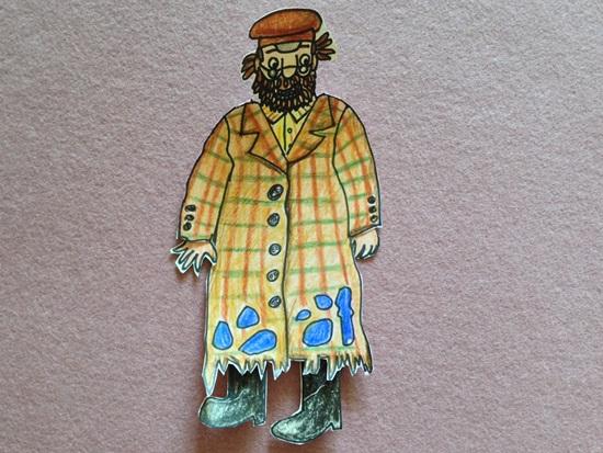요셉의 작고 낡은 오버코트 - 그림책 놀이