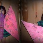 신문지 나비 만들기