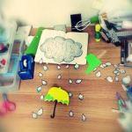 비가 와도 괜찮아 : 빗방울 모빌 만들기