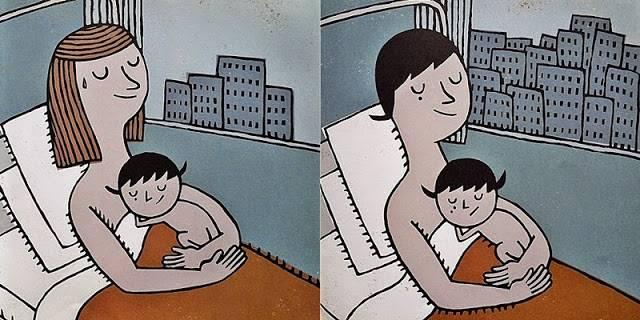 네가 태어난 날, 엄마도 다시 태어났단다
