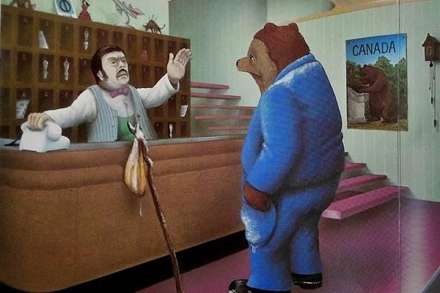 난 곰인 채로 있고 싶은데