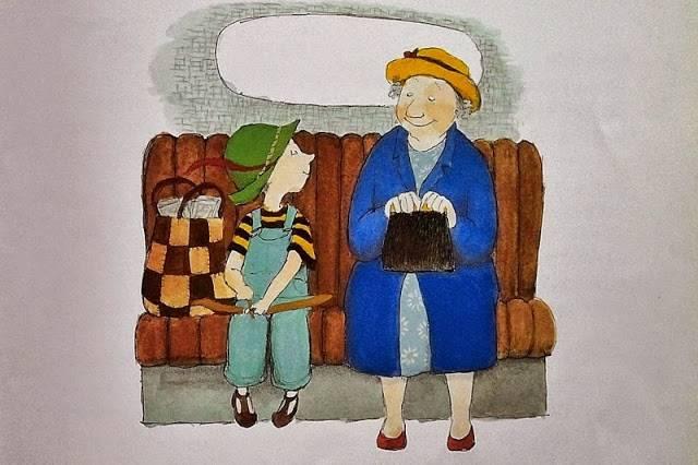 우리 할머니가 이상해요