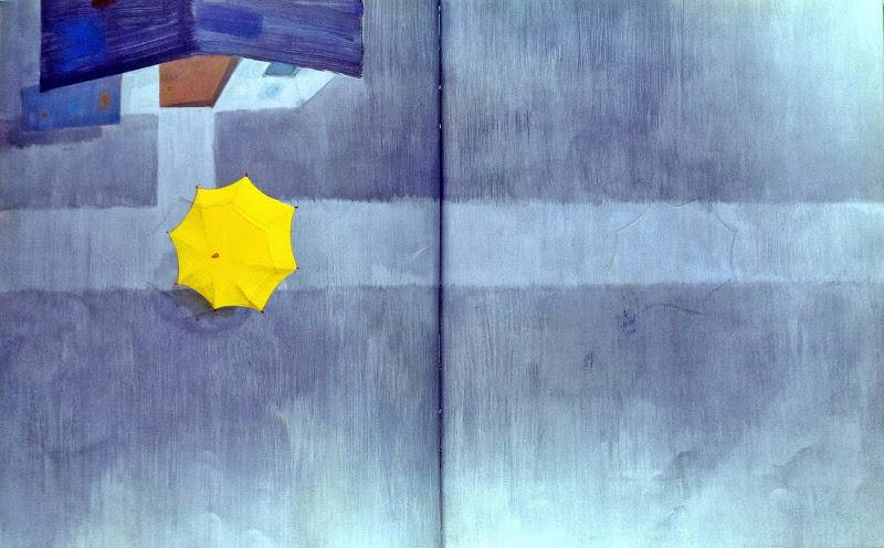 노란 우산