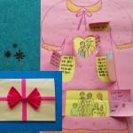 드레스 카드 만들기(그림책 놀이 : 까치가 물고간 할머니의 기억)