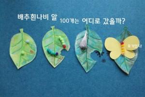 나비 한살이 체험 놀이