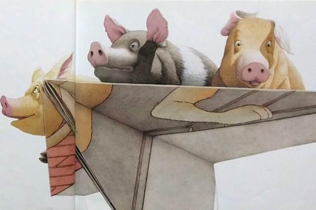 데이비드 위즈너 아기 돼지 세 마리