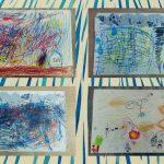 빗방울이 후두둑 : 다양한 빗소리, 그림으로 표현하기
