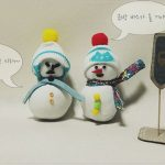 두더지의 소원 : 양말 눈사람 만들기