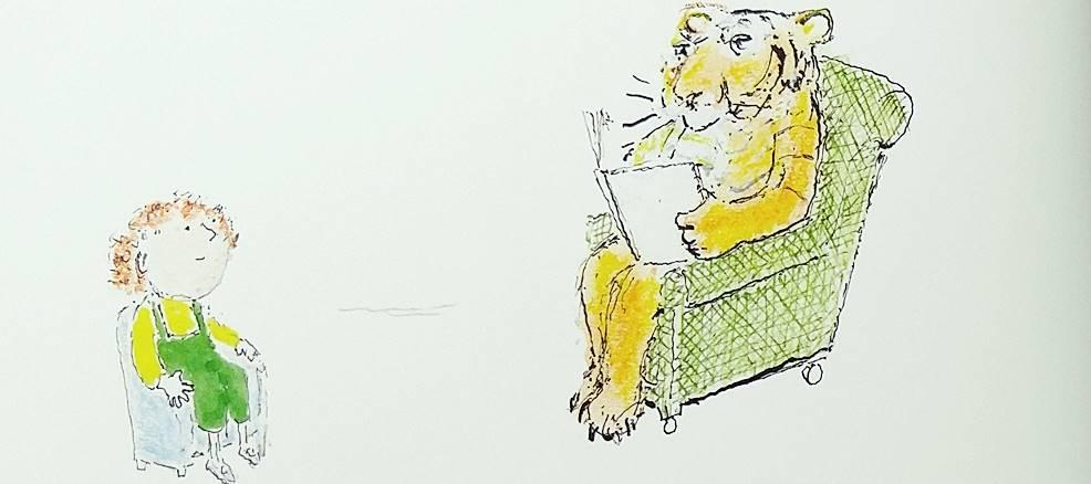 호랑이가 책을 읽어 준다면
