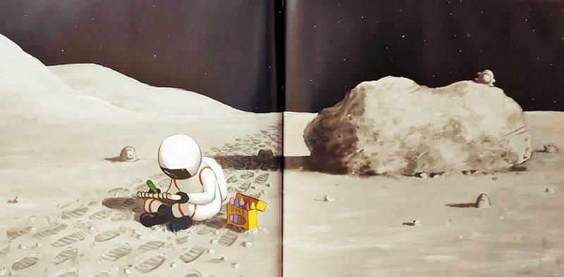 달 체험학습 가는 날