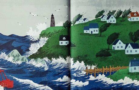 태풍이 찾아온 날
